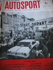 Autosport May 3rd 1963 *Tulip Rally & Syracuse Grand Prix*