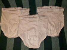Vtg New 3 Pairs Fruit Of The Loom Briefs Underwear Size M 34-36 Usa