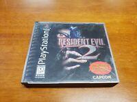 Resident Evil 2 Dualshock Edition (PlayStation 1) PS1 Black Label CIB Complete