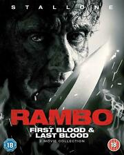 Rambo: First Blood & Last Blood [2019] (Blu-ray) NEW