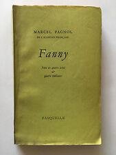 FANNY 1959 MARCEL PAGNOL THEATRE