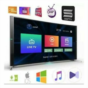 IP*TV 12 Mois Abonnement M3U SMART TV MAG Xtream