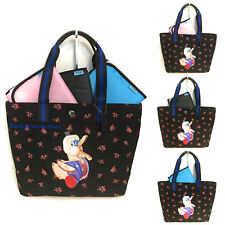 COACH Tote Bag Diaper or Shopping Travel Bag Dr. Doodle Duck Fisher Price NWT