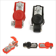 Pair Adjustable Positive&Negative Battery Terminal Clamp Clips For 6/12V Vehicle