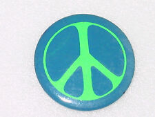 "PEACE BUTTON PIN PINBACK 1.75"" NO PIN"