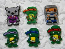Croc Clog Ninja Turtles Plug Shoe Charms Will Fit Other Brands Shoes C 663
