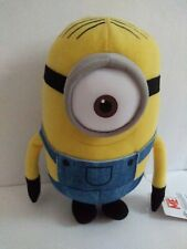 "Minion Stuart Dispicable Me classic quality stuffed plush toy figure 9 1/2"""