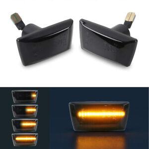 Dynamic LED Side Marker Blinker Turn Signal Lights For Opel Adam Astra H Corsa D