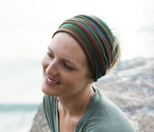 Forest Earth Merino Hand Dyed Headwraps Neck Scarf Hair Head Wrap