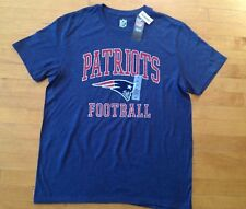 New England Patriots NFL Men's Short Sleeve T-shirt Navy Blue Size X- Large-NWT