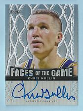 CHRIS MULLIN 2013 LEAF FACES OF THE GAME REFRACTOR AUTOGRAPH AUTO /50