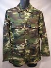 Vintage Sears Boys Youth Camo Snap Pocket Shirt Jacket 18-20 XL Great Condition