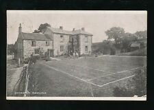 Devon DAWLISH Secmaton House Tennis Court Used 1907 PPC