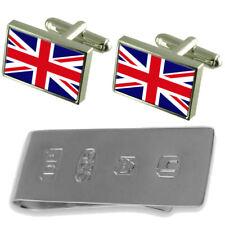 Northern Ireland Flag Cufflinks & James Bond Money Clip