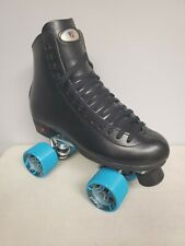 Brand New Riedell 120 Leather Boot Roller Skates Mens Size 12.5