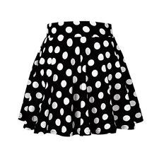 1aeb1af7ee Fashion Womens Polka Dot Mini Skirts Retro Elastic Waist Girls Short Dress  S-XL
