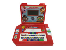 RARE Superwhy Super Duper Computer Touch & Learn Laptop Toy Super Why WORKS HTF