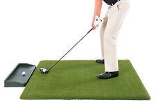 Super Tee Golf Mat - 5'x5' - with Golf Ball Tray