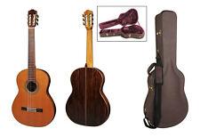 Salvador Cortez CC-110 Konzertgitarre, vollmassiv, Zeder / Palisander mit Koffer
