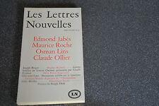 Les Lettres Nouvelles : septembre Octobre 1973 (D5)
