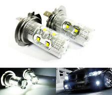2 H7 499 LED 50W Projector Bulb White Daytime Head Light High Beam Fog Alfa UK