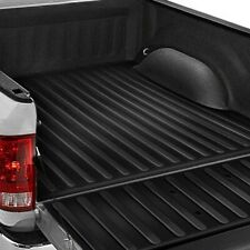 Set of 2 Wade 72-01451 Truck Bed Rail Caps Black Ribbed Finish with Stake Holes for 2002-2009 Dodge Ram 1500 2500 with 6.5ft Bed
