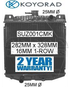 SUZUKI MIGHTY BOY 1985-1988 500cc & 550cc MANUAL BRASS CORE RADIATOR *KOYORAD*