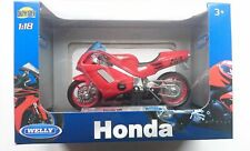 WELLY HONDA NR 1:18 DIE CAST LICENSED MOTORCYCLE NEW IN BOX