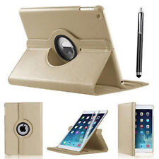 "iPad 360 Rotating Stand Case Cover for 2017 iPad 5th Generation 9.7""- Model Gold"