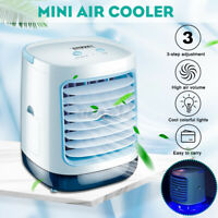 Portable 3 Gear LED Air Conditioner Air Conditioning Fan Cooling Fan Cooler Kit