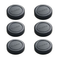 6*micro m 4/3 camera rear lens cap cover for Olympus Panasonic replacement