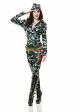 Camouflage Cutie Catsuit Costume for Adult size S (5-7) New by Charades 02885