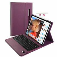 iPad Pro 12.9 2018 Keyboard Case, Vivefox Wireless iPad Keyboard + Folio Smart