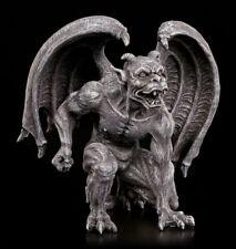Gargoyle Figur mit Hörnern - Fantasy Gothic Wächter Deko Teufel Dämon