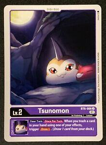 Tsunomon | BT6-006 U | Uncommon | Purple | Double Diamond | BT06 | Digimon TCG