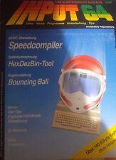 Input Commodore 64 C 64 disco floppy 10/87 1987 (Game, istruzioni)