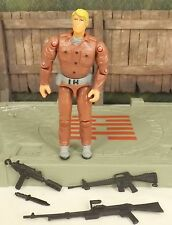GI Joe Grunt v8 infantry squad leader 2004 comic three pack figure