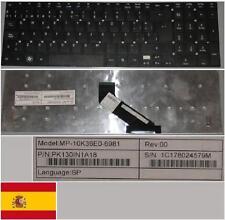 Tastiera Qwerty Spagnola ACER Aspire AS5830T MP-10K36E0-6981 PK130IN1A18 Nero