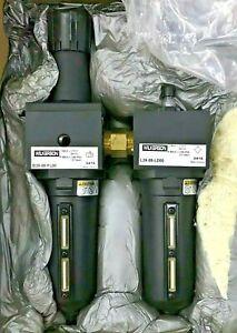 "WILKERSON D39 D39-08-FL00 Hi-Flow Pneumatic Filter Regulator + Lubricator 1"" FRL"