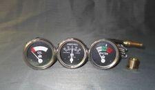 Oil+Temp+Amp Gauge fits IH/Farmall H, I4,I6,I9, M,O4,OS4,O6,OS6, TD6,W6, W9,WD9