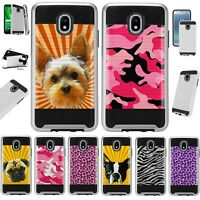 METAGUARD For Samsung Galaxy J3 2018 Hybrid Phone Case Cover D4