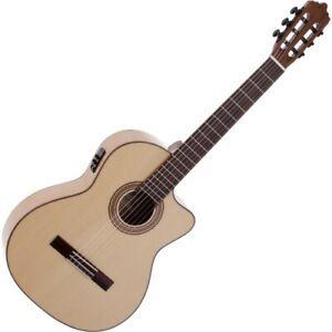 La Mancha Perla Ambar S-CE Konzertgitarre   Neu