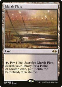 Modern Horizons 2 - Marsh Flats - RARE **FOIL** MtG Card