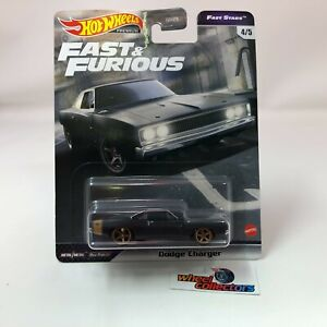 IN STOCK * Dodge Charger * Hot Wheels Fast & Furious FAST STARS Case L