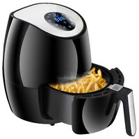 Air Fryer w/ Digital LED Touch Screen Technology, Timer and Temperature Control