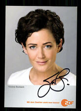 Yvonne Burbach ZDF Autogrammkarte Original Signiert # BC 84160