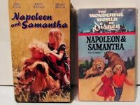 Napoleon and Samantha 1972 (VHS and Movie Tie-In Paperback) Jodie Foster