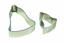 PME Bell Flower Petal Cutters Cookie Fondant Cut Out Sugarcraft Decorating 2pk