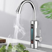 360° Küchenarmatur LED Sofort Elektrisch Wasserhahn Durchlauferhitzer Water Tap