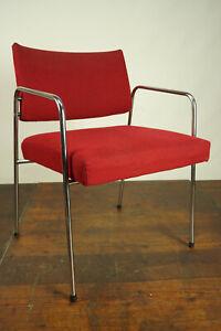 70s Armchair Antique Vintage Chair Chrome Retro Dining Room Desk 70er